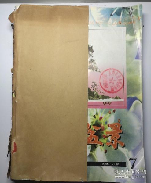 花木盆景(月刊)   1999年(7-12)期  合订本  (馆藏)