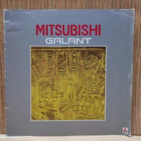 1984年 三菱 MITSUBISHI Galant 格兰 汽车 样本 目录 画册 宣传册