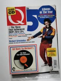 Q the music 2020年5月 50周年 音乐杂志 英文版 付CD