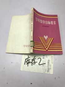 北京四中 学科教学目标要求 高中英语分册