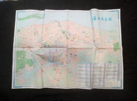 温州交通旅游图(雁荡山风景区、温州交通揽胜图、温州市区图)