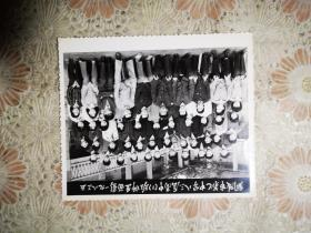 铜陵市第七中学八三届高中1班师生毕业合影留念