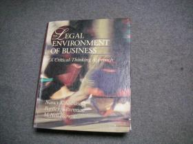 THE LEGAL ENVIRONMENT OF BUSINESS  A CRITICAL THINKING APPROACH THIRD EDITION(《企业法律环境》,百度翻译)【英文原版 硬精装 】