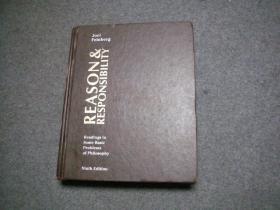 英文原版 大精装 Reason and Responsibility: Readings in Some Basic Problems of Philosophy by Landau Feinberg  NINTH EDITION哲学基本问题中的理性与责任解读, 原版英文书