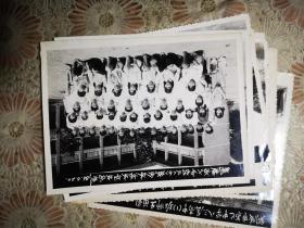 84年铜陵市六中初三6班全体师生毕业合影留念