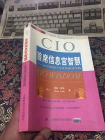首席信息官智慧:硅谷顶级IT专家的最佳实践——企业领袖书架