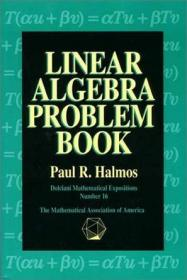 Linear Algebra Problem Book (Dolciani Mathematical Expositions)