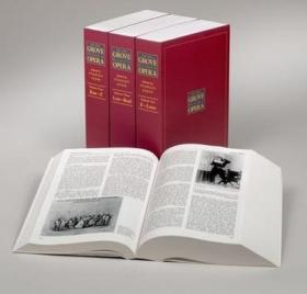 The New Grove Dictionary of Opera:4 volumes