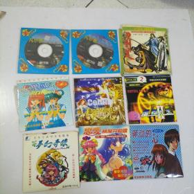 游戏碟70多张合售 见照片