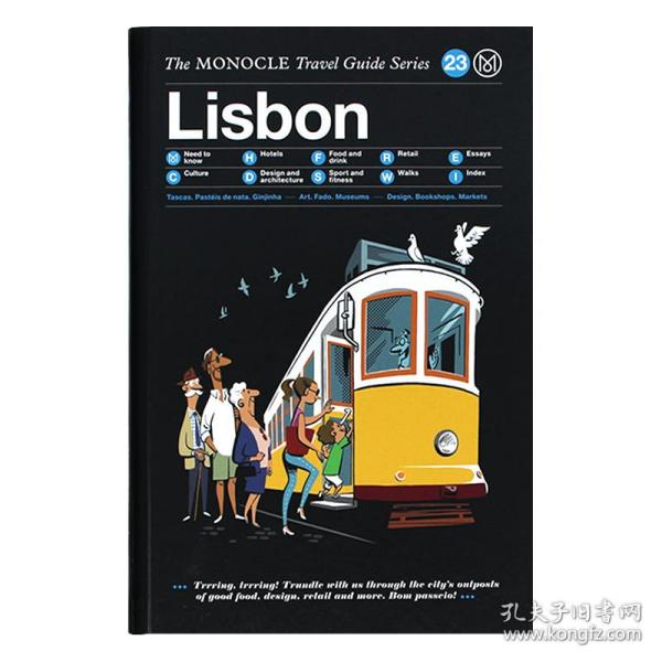 Lisbon  The Monocle Travel Guide Series
