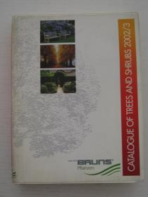 CATALOGUE OF TREES AND SHRUBS2002/3