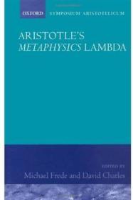 Aristotle's Metaphysics Book Lambda:Symposium Aristotelicum