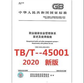 GB/T 45001-2020 职业健康安全管理体系要求及使用指南