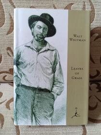Leaves of grass by Walt Whitman - the death-bed edition 惠特曼《草叶集》 现代文库出品 精装本