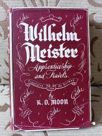 Wilhelm Meister's apprenticeship and travels -- 两卷本之卷二 布面精装本