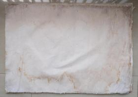 百年无废纸 清代老纸 宣纸 空白没使用过 收清代地契中没用完的 清代书写地契专用纸剩下的 共12张 之十一