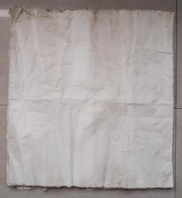 百年无废纸 清代老纸 宣纸 空白没使用过 收清代地契中没用完的 清代书写地契专用纸剩下的 共22张 之十