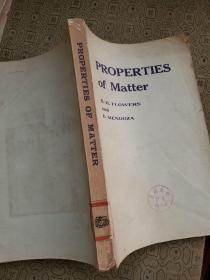 PROPERTIES OF MATTER:物质的性质 英文版