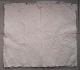 百年无废纸 清代老纸 宣纸 空白没使用过 收清代地契中没用完的 清代书写地契专用纸剩下的 共21张 之十二