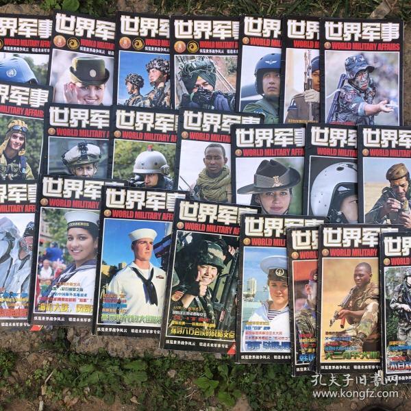 世界军事22本合售