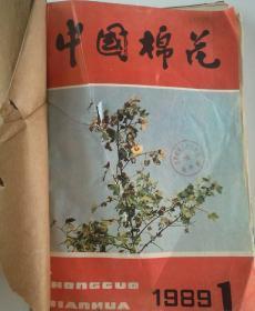 中国棉花(双月刊)  1989年(1-6)期  合订本  (馆藏)