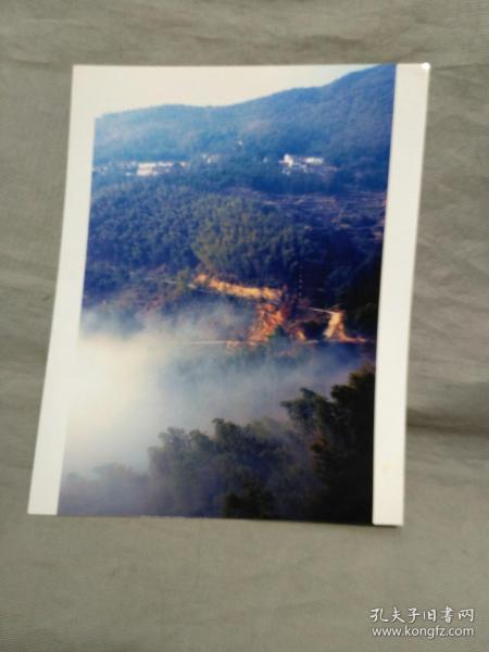浙江杭州富阳徐文杰参加摄影比赛作品:白云深处有人家