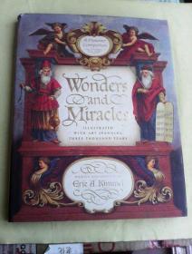 Wonders and Miracles: A Passover Companion     英文原版   大16开精装  铜版纸彩印