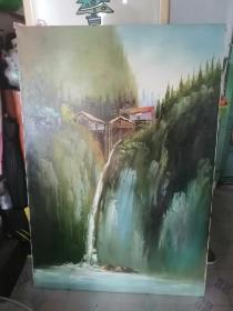 大幅的风景油画