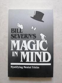 英文原版棋牌魔术书 bill severn's magic in mind
