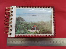 老影集:小相册一本(内有9张登泰山的照片)