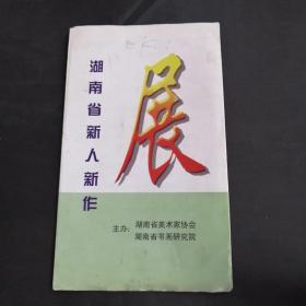 湖南省新人新作展