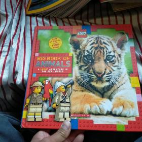 Big Book of Animals (LEGO Nonfiction)正版  内页干净