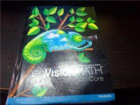 envisionMATH 4 common core 2010年 大16开硬精装 原版外文 图片实拍