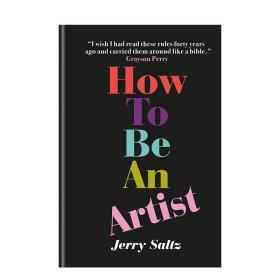 【预 售】How to Be an Artist如何成为一名艺术家 英文原版艺术入门创作指南