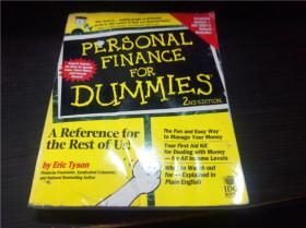 PERSONAL FINANCE FOR DUMMIES  16开平装 原版外文 图片实拍