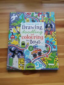 Drawing  Doodling and Colouring: Boys (Usborne Drawing  Doo