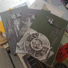 远近丛书:建筑、美丑、味      3册合售