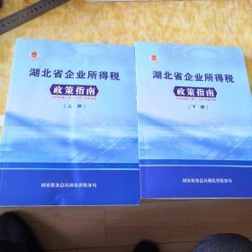 湖北省企业所得税政策指南(2008一2019)上下2册
