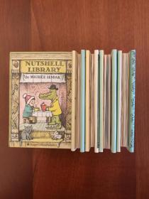 Nutshell Library: Alligators all around / Chicken Soup With Rice / One was Johnny / Pierre(果壳图书馆,迷你手掌小童书)(现货,实拍书影)