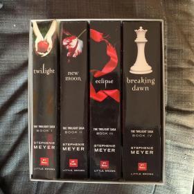 暮光之城 全四册 英文版 盒装