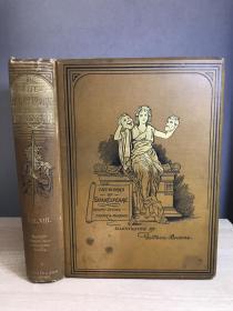 The Works of Shakespeare: Vol. VIII 1890年前后 三边刷金 插图版 装帧漂亮