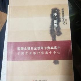 一沙一世界:郭凯经济学札记