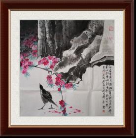 未君(花鸟真迹)2