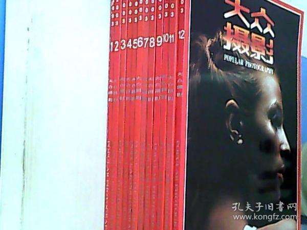 大众摄影2003年全12期合售