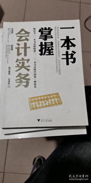 一本书掌握会计实务