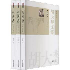 胡大楚文集(全3册)(小说卷;剧本卷(上);剧本卷(下))