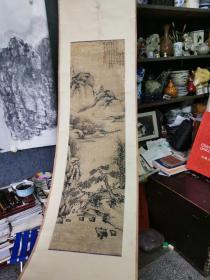 清代画家冯湖,号-澄之。清代山水画。