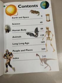 Children's FIRST Encyclopedia(孩子第一本百科全书)精装没勾画