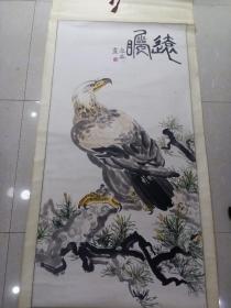 立轴 卓华画[画心 133 x 68]