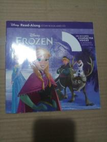 Frozen Read-Along Storybook and CD 冰雪奇缘(书+CD) 英文原版